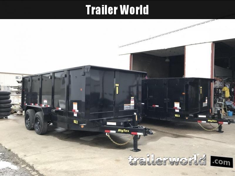 2018 Big Tex 16LX 16' Dump Trailer w/ TARP 17500 GVWR 4' sides in Ashburn, VA