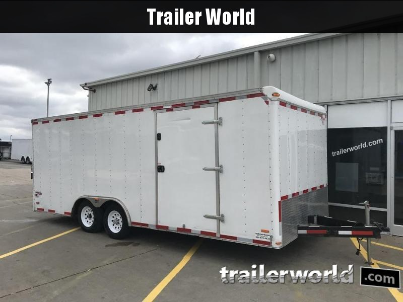 2010 Pace 20' Enclosed Car Trailer