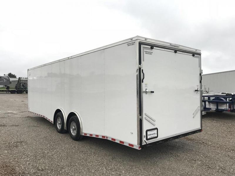 2019 CW 28'  Enclosed Car Trailer 7' Tall 14k GVWR
