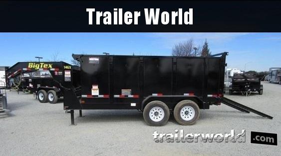 2018 Big Tex Trailers 14GX-14' Gooseneck Dump Trailer 4' Sides