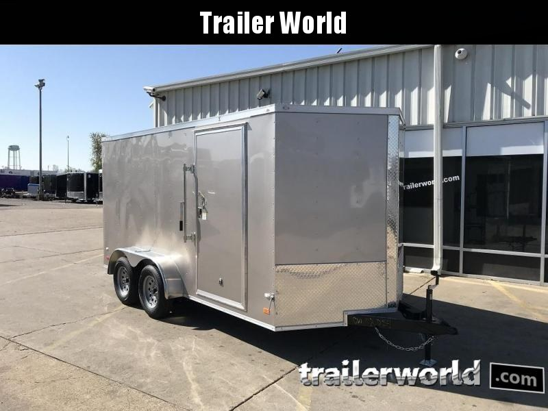 2018 CW 7' x 16' x 6.5' Vnose Enclosed Cargo Trailer
