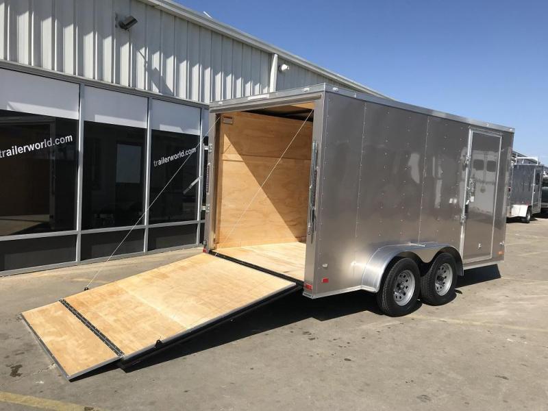 2019 CW 7' x 16' x 6.5' Vnose Enclosed Cargo Trailer