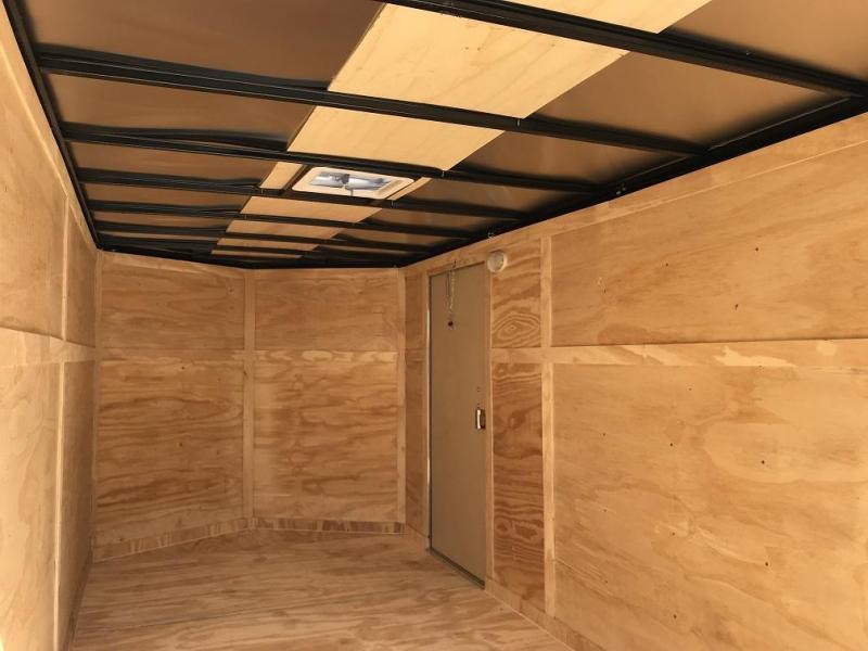 2018 CW 7' x 16' x 6.5' Vnose Enclosed Cargo Trailer