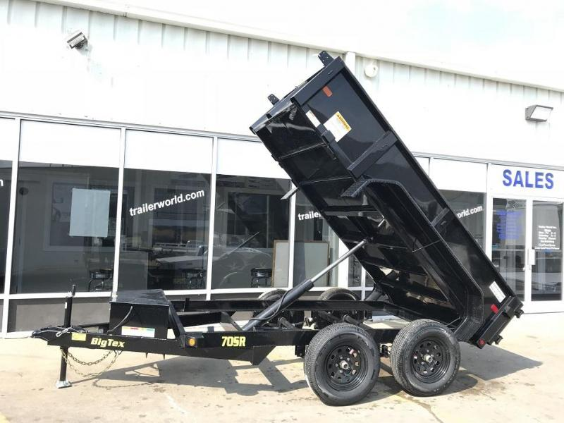 2019 Big Tex Trailers 70SR-10' x 5' Dump Trailer