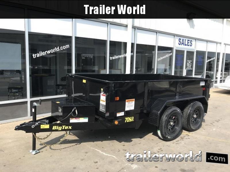 2019 Big Tex Trailers 70SR-10' x 5' Dump Trailer