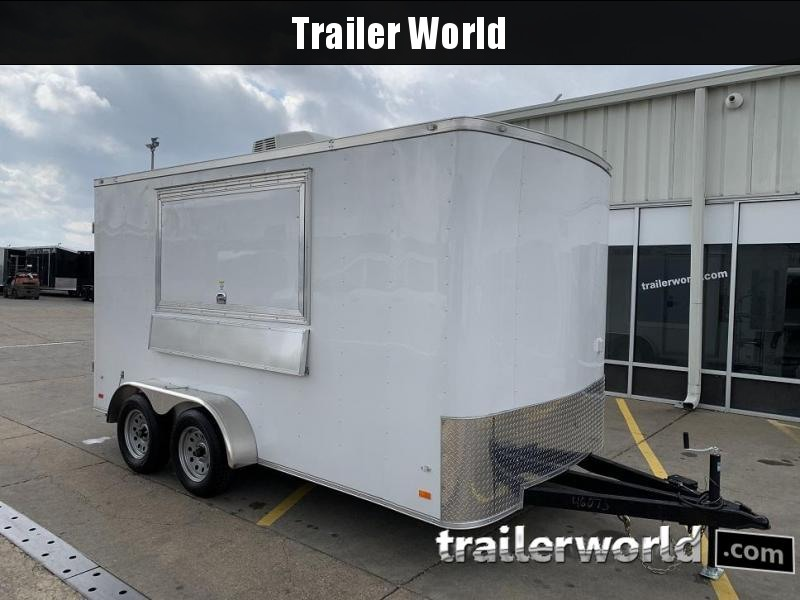 2019 CW 7' x 14' x 7' Vending / Concession Trailer