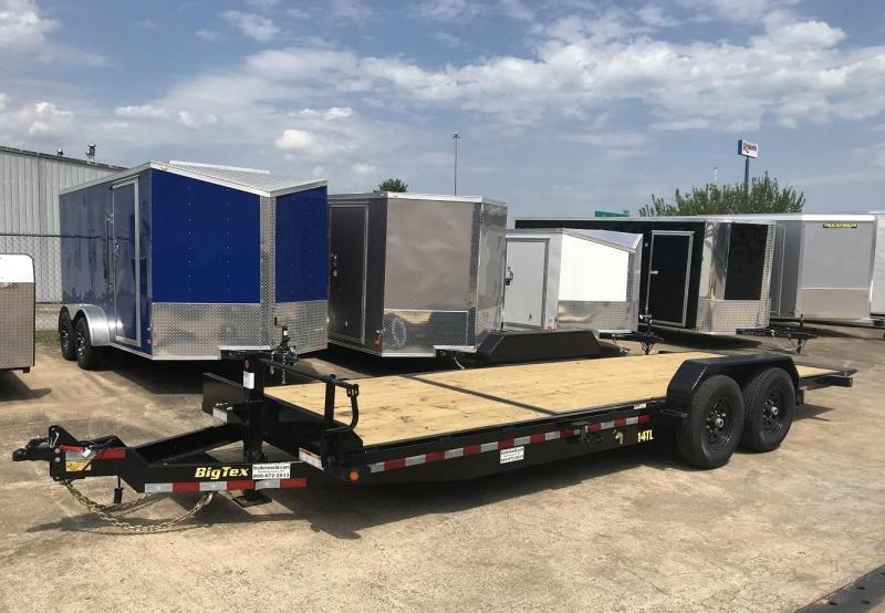 2019 Big Tex 14TL-22' 16' Tilt + 6' Equipment Trailers