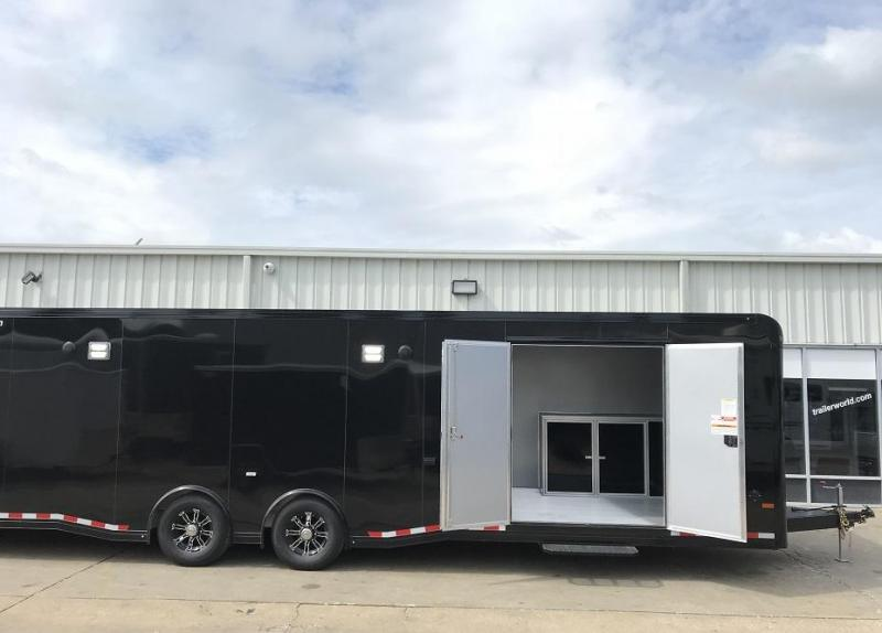 2019 Sundowner 30' Spread Axle Car Aluminum Race Trailer