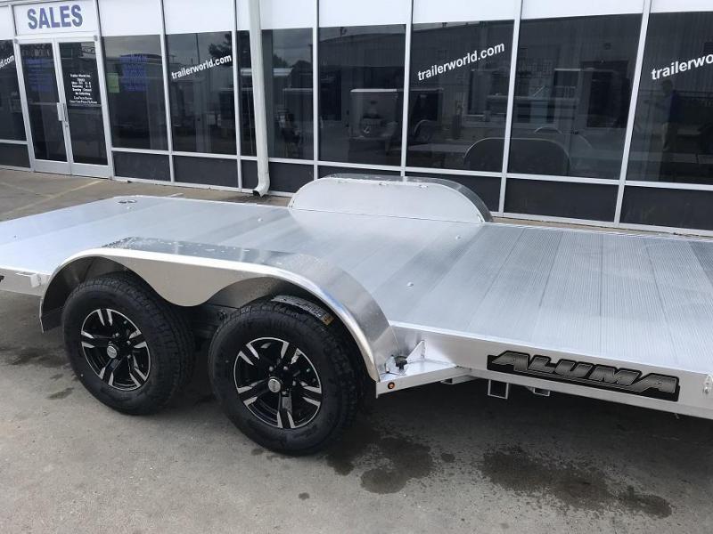2019 Aluma 8218 Tilt Bed Open Car Hauler Trailer Anniversary Edition