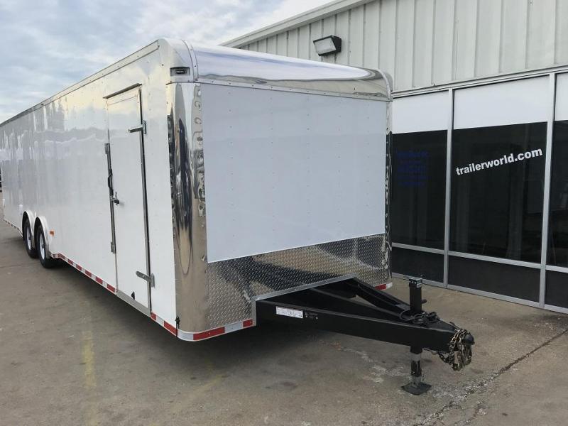 2019 Lark 34' Spread Axle Enclosed 2 Car Hauler Trailer