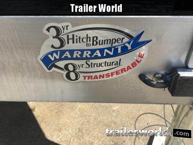 2020 Sundowner 20' Aluminum Tapered Front Open Car Hauler Trailer