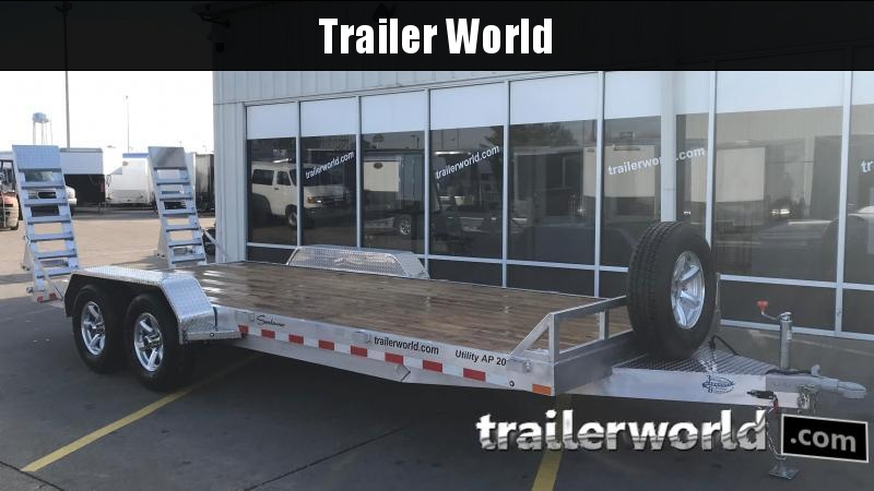 2019 Sundowner APU20BP 20' Aluminum Equipment Trailer in Ashburn, VA
