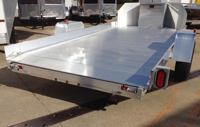 2018 Aluma UT12 Aluminum Utility Trailer 6' x 12'