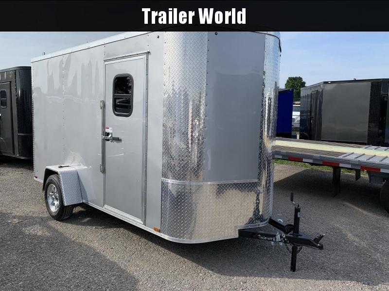 2019 Arising 6 x 12 x 7 Enclosed Cargo Trailer w/ Windows in Ashburn, VA