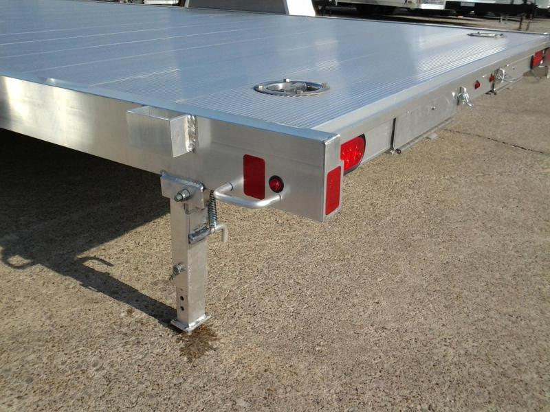 2020 Aluma 8214HS 14' Single Axle Aluminum Open Car Hauler Trailer