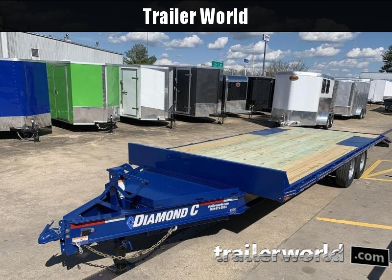 2019 Diamond C DEC207 22' Deck Over Equipment Trailer