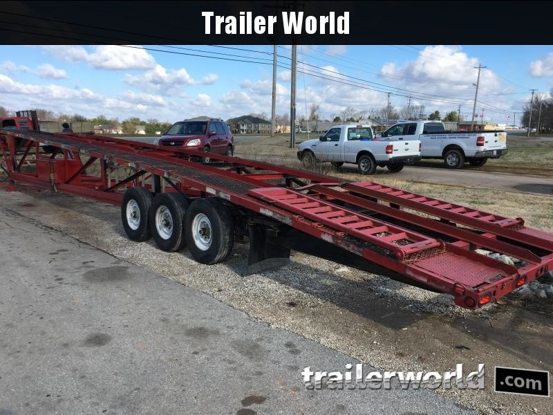 2006 Kaufman 50' +  Wedge 3 Car Hauler Trailer