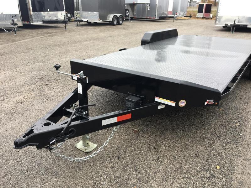 2018 Sure-Trac 20' Open Steel Car Hauler Trailer 10k GVWR