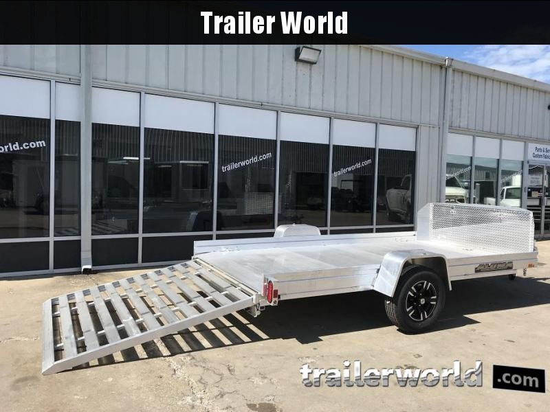 2019 *New Model* Aluma UTR12 Aluminum Utility Trailer 6.5' x 12'