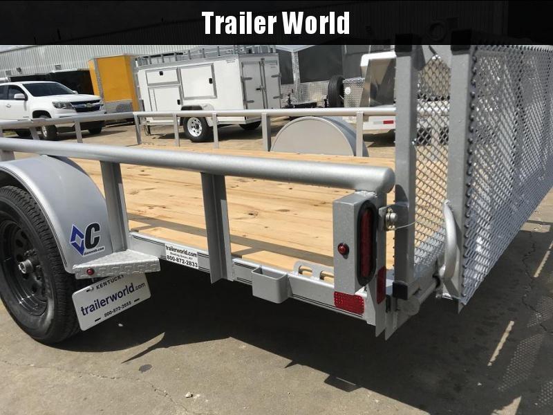 "2018 Diamond C 2PSA 12' x 77"" Utility Trailer - CLEARANCE"