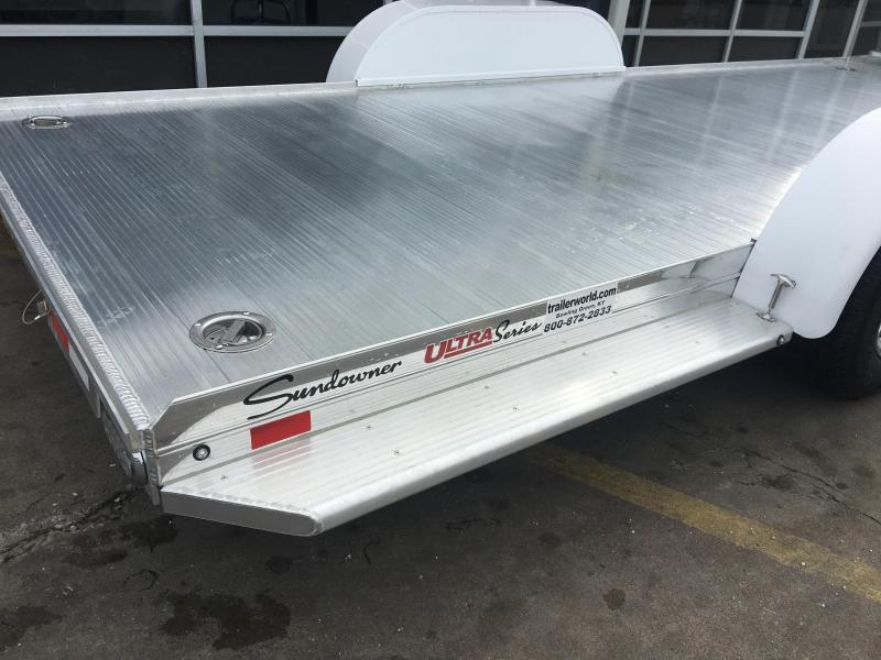 2018 Sundowner ULTRA 22'  Aluminum Open Car Hauler Trailer