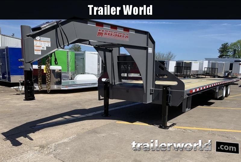2019 Midsota FBGN 34' Hydraulic Dovetail Gooseneck Trailer HYD DISC Brakes 25900 GVWR