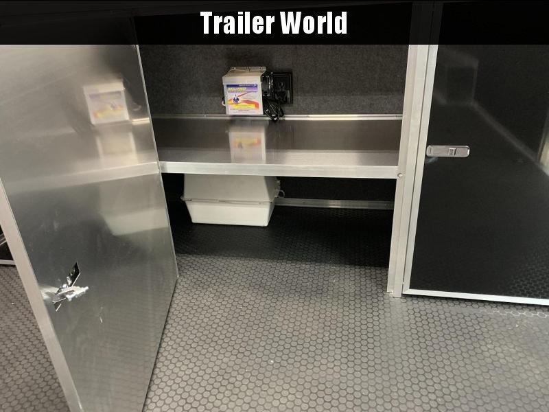 2020 Bravo Star 24' Aluminum Enclosed Car Trailer