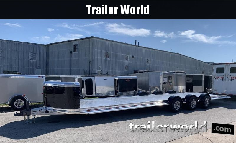 2020 Sundowner 36' Open Aluminum 2 Car Hauler Trailer