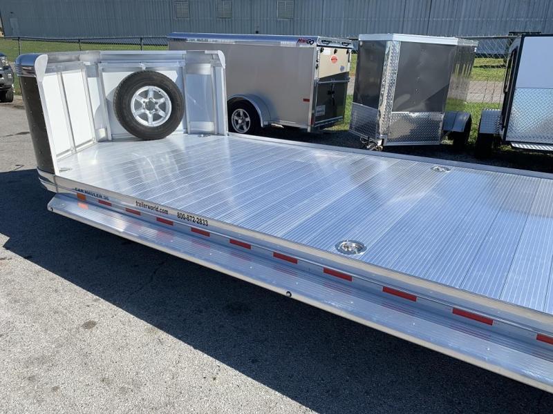 2020 Sundowner 36' Open Aluminum 2 Car Hauler Trailer