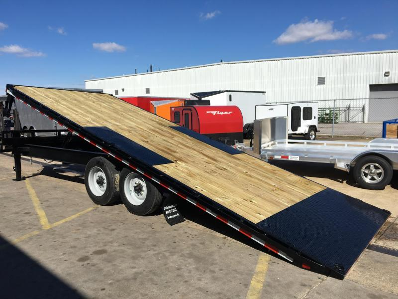 2019 Sure-Trac 22' Deck Over Tiltbed Equipment Trailer 17.5k GVWR