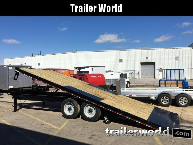 2019 Sure-Trac 22' Deck Over Tiltbed Equipment Trailer 17.5k GVWR