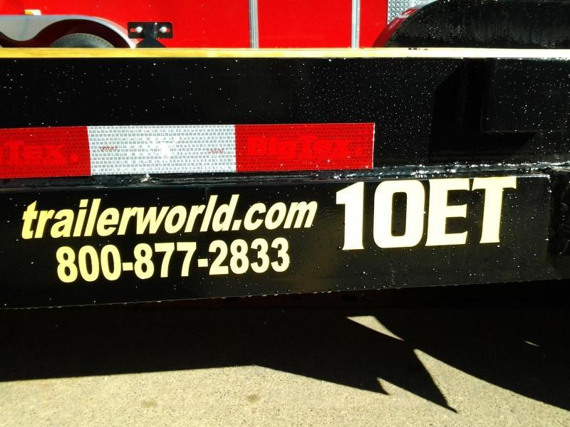 2019 Big Tex 10ET-20' Equipment Trailer 10K GVW