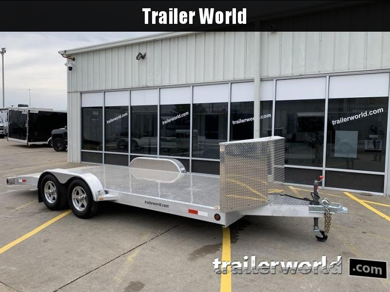 2009 Trailer World Aluminum Open Car 18' Trailer