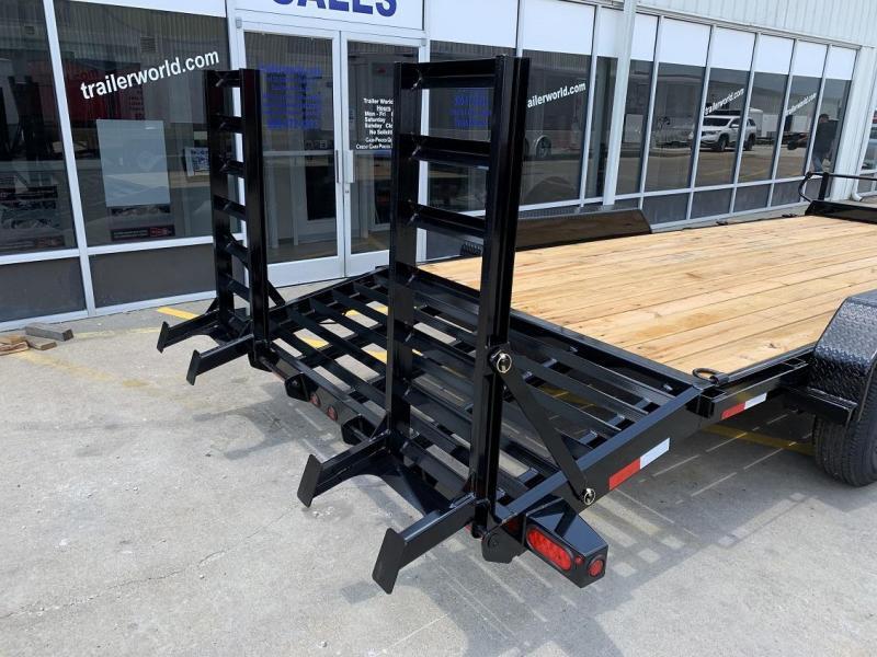 2020 Big Tex 14ET-20'  Flatbed Equipment Trailer  7 Ton