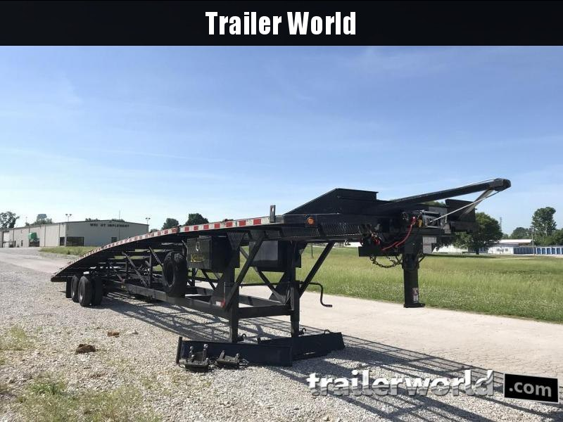 2013 Kaufman 50' Tandem Dual Wedge Car & Trailer Hauler