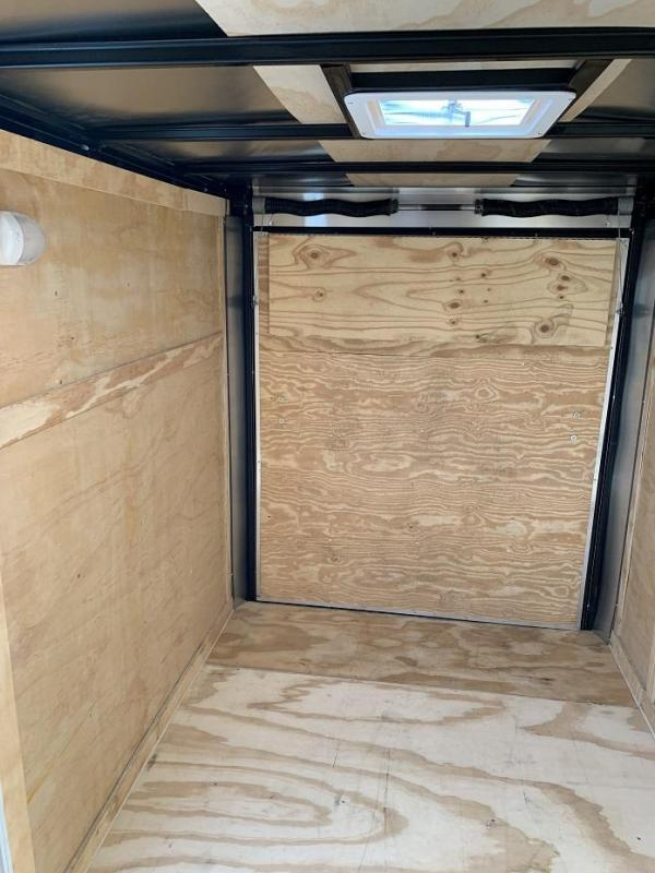 "2019 CW  6' x 10' x 6'3"" Vnose Enclosed Cargo Trailer"