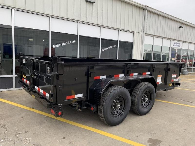 2019 Big Tex Trailers 14LP-14' Dump Trailer w/ TARP - LOW PROFILE