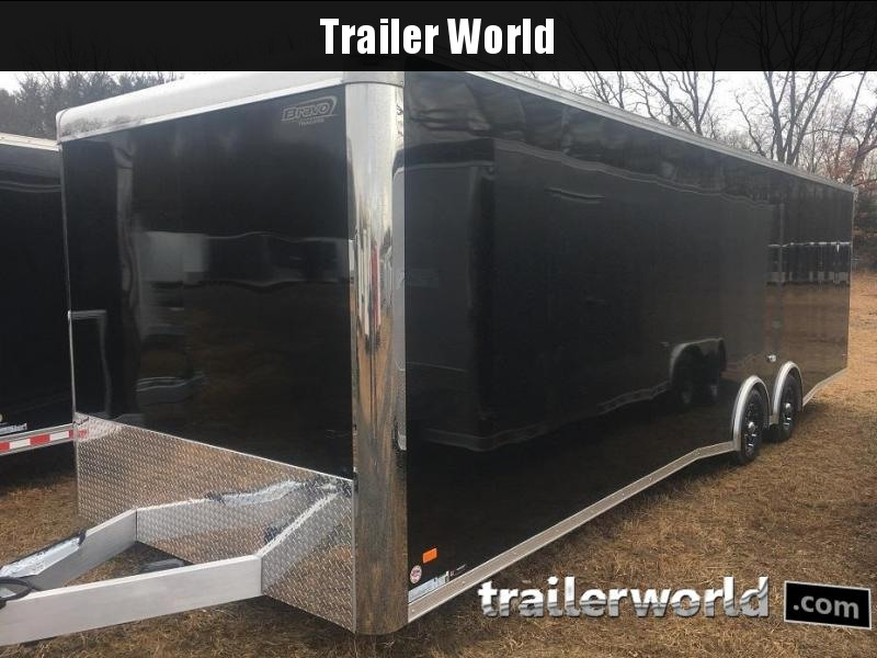 2019 Bravo Silver Star 28' Aluminum Enclosed Car Race Trailer