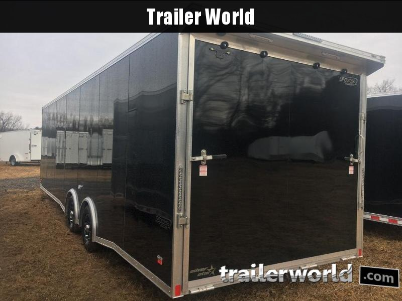 2019 Bravo Silver Star 28' Aluminum Enclosed Car Race Trailer