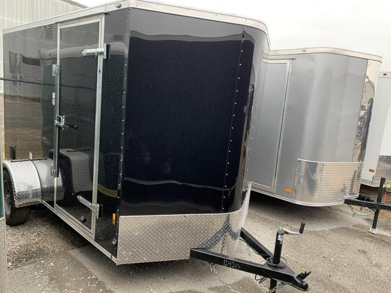 2020 Continental Cargo 6' x 10' Enclosed Cargo Trailer