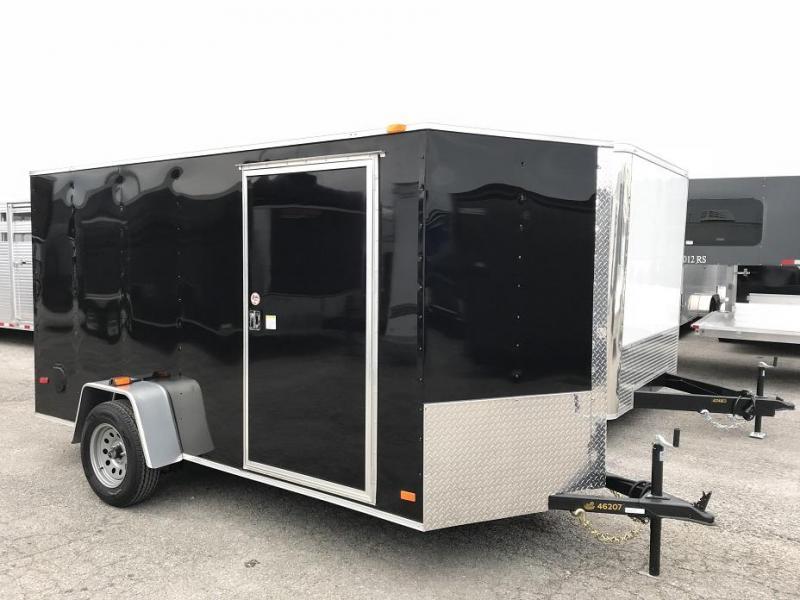 2019 CW 6' x 12' Vnose Enclosed Cargo Trailer
