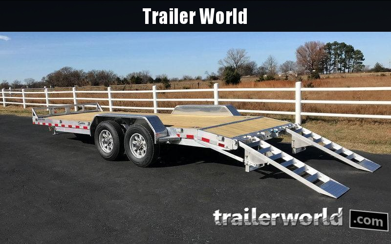 2018 Sundowner APU18BP 18' Aluminum Equipment Trailer