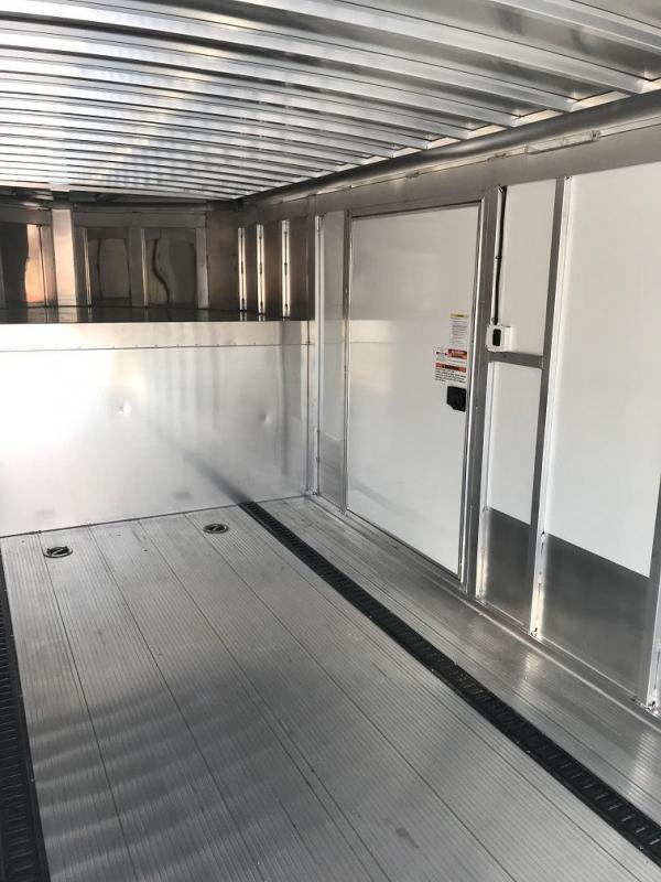 2019 Sundowner 48' Aluminum 2 Car Enclosed Gooseneck Car Trailer