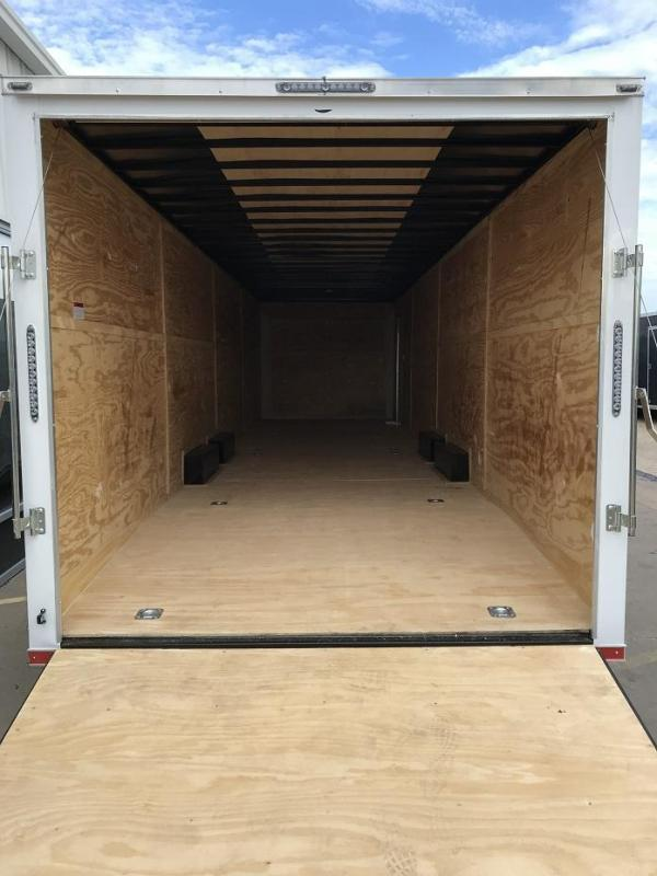 2019 Lark 34' Spread Axle Enclosed 2 Car Hauler Trailer