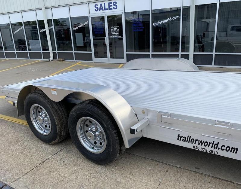 2018 American Hauler 18' Aluminum Open Car Trailer 10k GVWR
