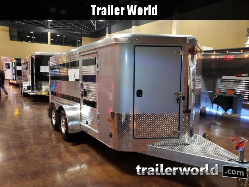 2020 Sundowner Showman Low Profile 16' Livestock Trailer