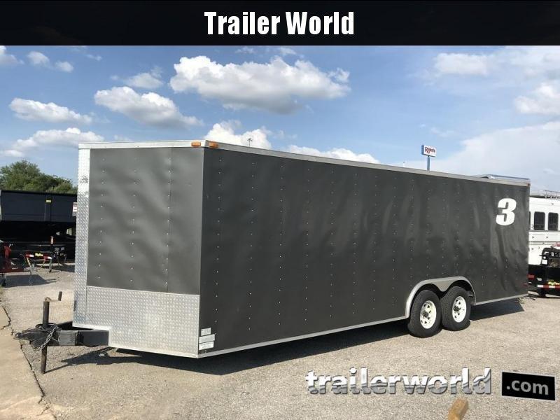 2012 Lark 24V Enclosed Car Trailer