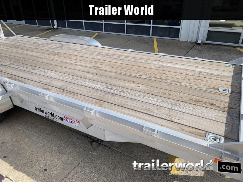 2019 American Hauler 20' Aluminum 14k Equipment Trailer