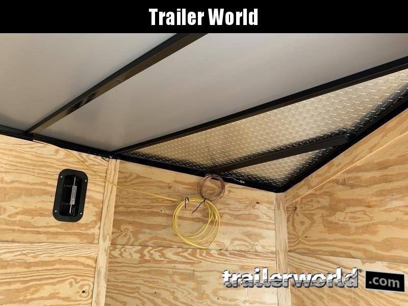 2020 CW 7' x 14' x 7' Vnose Enclosed Cargo Trailer BLACK OUT
