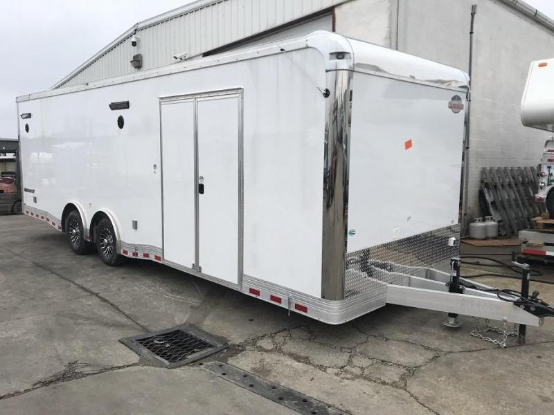 2019 Cargo Mate Eliminator 28' Aluminum Race Trailer